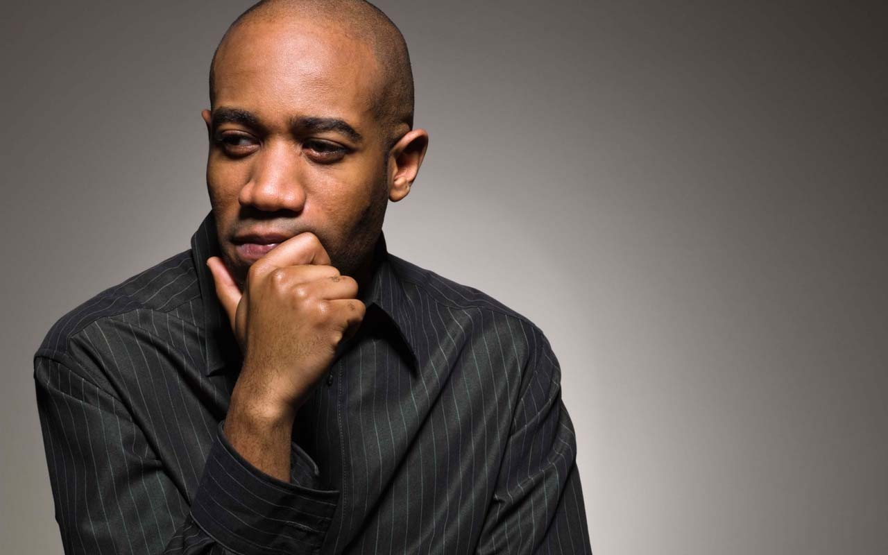 Lonely black man